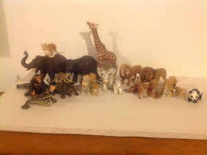 Amazing animal figures from schleich