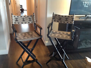 2 Pier one bar chairs
