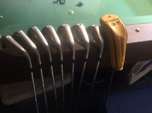 Adams idea irons 5-Sw (youth flex) with Adams hydrid included.