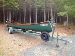 26' Sharp Canoe in excellent condition with lots of extras...