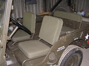 Wanted jeep Willys seats