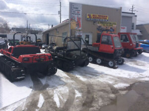 Tracked vehicle rentals
