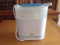 Philips Avent Steam Steriliser excellent clean condition RRP £70