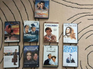 DVDs in excellent condition