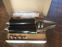 Suzuki dl1000 VStrom - Beowulf stainless steel exhausts - Suzuki dl1000 VStrom
