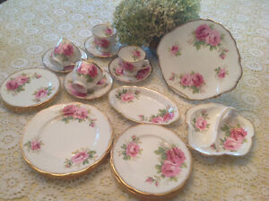 American Beauty Luncheon set for 4