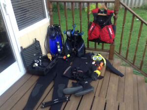 scuba equipment package or seperate