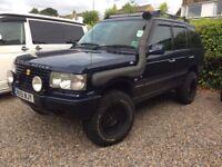 4x4 off roader Range Rover p38 2001