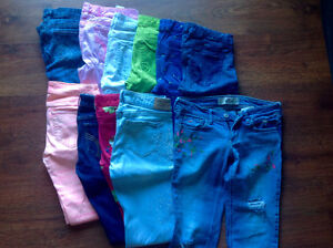 Lot de jeggings Hollister taille 3