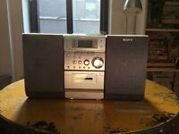 Sony CD and Cassette Stereo