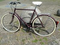 Men's Retro Restored Bicycle