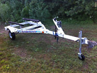 single pwc trailer with tongue jack make an other