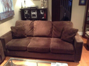 Chesterfield shop couch and love seat