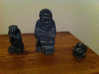 Three Small Statues