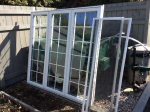 Fenêtre  3 sections aluminium