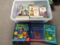Kids toy and book bundle