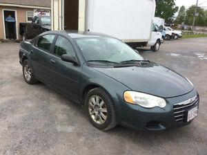 2004 Chrysler Sebring LX Dec MVI 204 km $1285.00 put on road