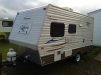 16ft camper with bunks you can tow with your SUV!