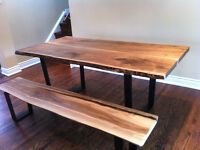 LIVE EDGE TABLE WOOD DESK LIVE EDGE HARVEST TABLES COFFEE TABLE