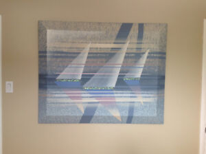 """Sails"" signed print for sale!"