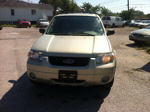 2005 Ford Escape SUV, Crossover SAFETY +E TEST $4500 +HST