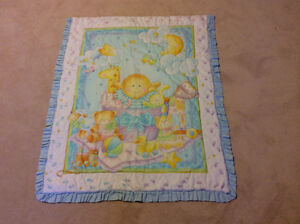 2 beautiful baby blankets. Very clean in very good condition.