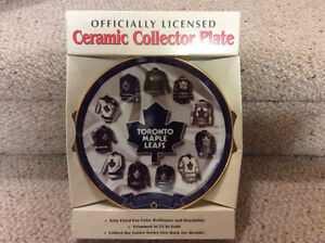 Toronto Maple Leaf Collectible Jersey Plate