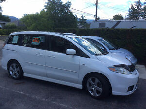 2007 Mazda5 GT SPORT PACKAGE Minivan in Snowflake White