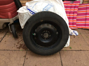2014 Ford Fiesta Snow Tires 15inch With Rims