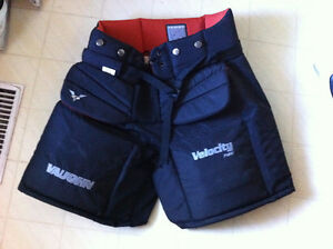 Selling Vaughn Goalie Pants and Bauer Goalie skates