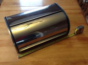 Stainless Steel Bread Box ($30 or trade)