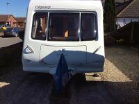Elddis Odyssey 482 2009 2 berth caravan.