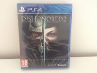 New & Sealed Sony PS4 Game - DISHONORED 2 - Playstation 4