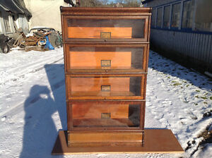 Antique Lawyers Bookcase