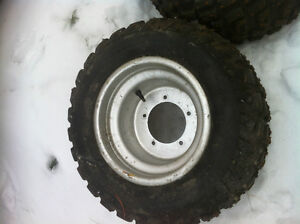 ATV 5 BOLT DID WHEELS WITH STUDDED TIRES FOR ICE Windsor Region Ontario image 4