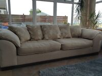 Quality DFS sofa and chair