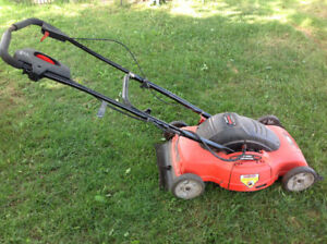 """Black & Decker"" Electric Lawn Mover MM675 18""mulching mower"