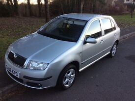 2006 Skoda Fabia 1.9 Elegance TDI-1 previous owner-full Skoda history-12 m mot-great economy