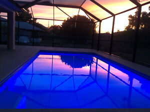 Pool Vacation House in Cape Coral Florida