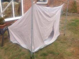 Caravan awning inner tent bedroom