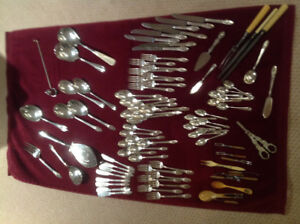 "Silver Plated Cutlery - pattern ""First Love"""