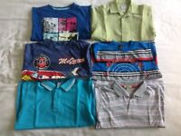 Boys tops bundle age 5/6 -6