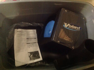 Volant Cold air intake with ram air scoop and Donaldson filter.