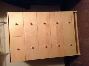 IKEA SIX DRAW DRESSER