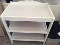 Baby Changing Table, White