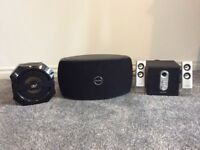 Range of speakers