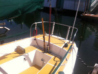 Riviera Star 24 ft Sloop Sailboat  PRICED TO SELL