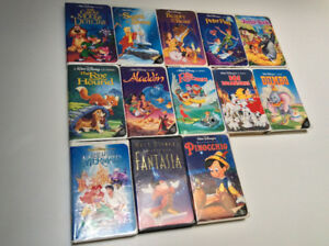 Disney + other VHS tapes