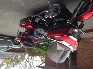 Yamaha motor bike