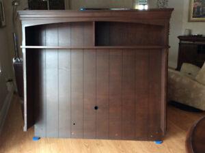Huche de meuble pour TV